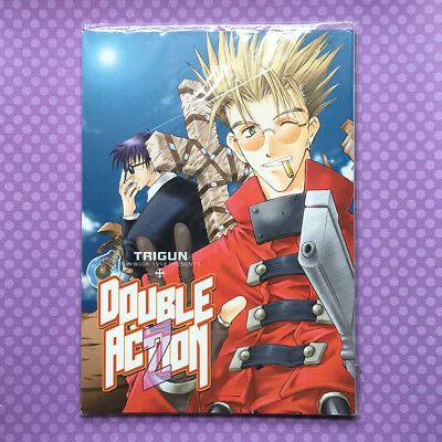 """Used Doujinshi: Trigun """"DOUBLE ACTION 2"""" by Black Cats JAPAN"""