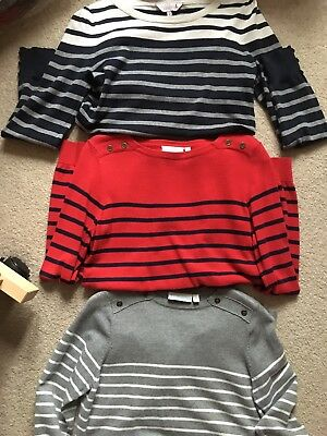 Jojo Maman Bebe And Red Herring Maternity Jumpers Small 8/10