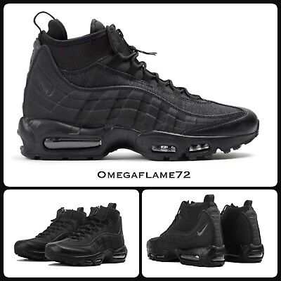 NIKE AIR MAX 95 Sneakerboot 806809 002, Sz UK, 9.5, EU 44.5