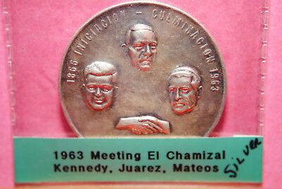 1963 El Chamizal Meeting with Kennedy, Juarez, and Mateos