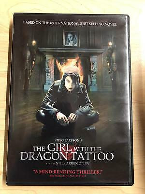The Girl with the Dragon Tattoo (DVD, 2009) - E1125