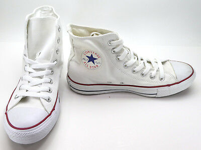 b4d6c603b863 Converse Shoes Chuck Taylor Hi All Star White Red Blue Sneakers Men 7 WO