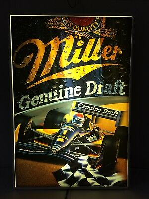 Miller Genuine Draft Lighted Beer Sign