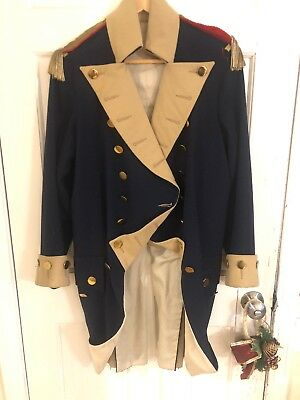 Wonderful Revolutionary War Coat Made As A Prop For Famous Artist Don Troiani