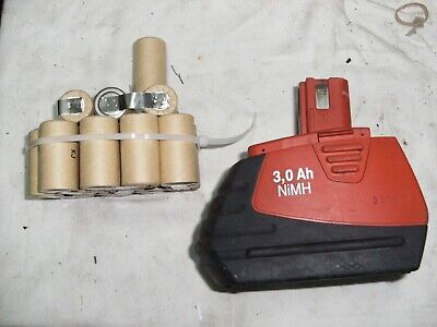 1 kit batterie hilti sfb185 4Ah😡 batteria battery bateria NI MH (only 15 cels
