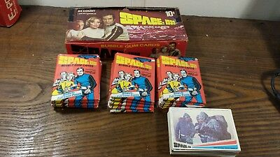 Vintage 1976 Space: 1999 Bubble Gum Trading Cards Box w/ 15 Unopened Packs