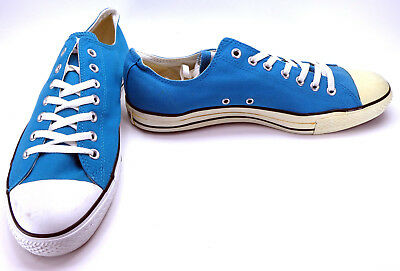 6236d2a9b1e Converse Shoes Chuck Taylor Ox All Star Blue White Sneakers Size 13