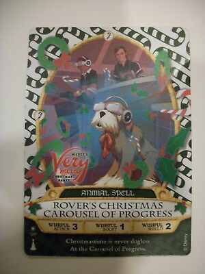 2017 MVMCP Rover Sorcerer's of the Magic Kingdom card Very Merry Christmas