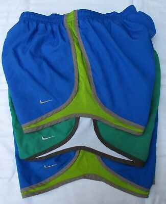 Lot of 3 Nike Track Tempo Dri-Fit Running Shorts Women's Med