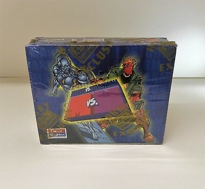 Marvel vs. Wildstorm - Sealed Trading Card Hobby Box - Fleer / Skybox 1997