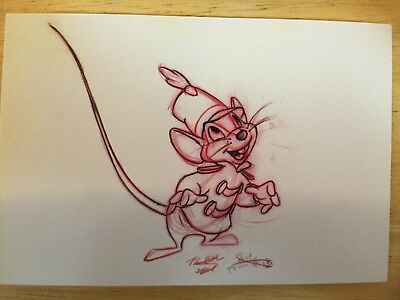 Postcard Unused Disney- Timothy Q. Mouse From  Dumbo, 1941