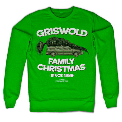 Griswold Family Christmas Since 1989 Vacation Chevy Chase Männer Sweatshirt Grün
