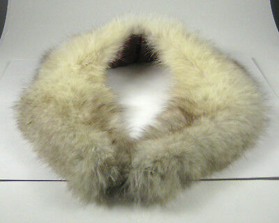 Fur Collar Only Womens Vintage 1940 to 1950 Women Lined