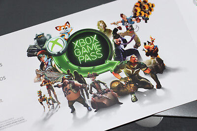 Microsoft Xbox One Game Pass 1 Month Digital Subscription Code