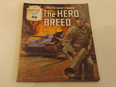 BATTLE PICTURE LIBRARY NO 673,dated 1972!,GOOD FOR AGE,VERY RARE,46 yrs old.