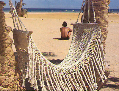 Make This Lovely Macrame Hammock...copy Pattern Only