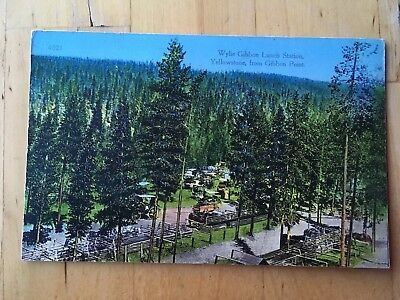 Wylie Gibbon Lunch Station, Yellowstone, From Gibbon Point