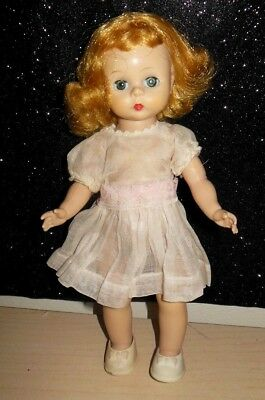 Vintage Madame Alexander -kins Doll Blonde bent knee Wendy face c1954 LOVELY