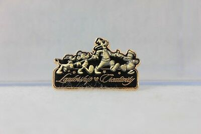 Disney Parks Pin 38767 Leadership Creativity Recognition Mickey Goofy Pluto