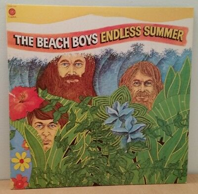 Beach Boys . Endless Summer . Surfin Safari / Help Me Rhonda . 1974 Capitol 2 LP