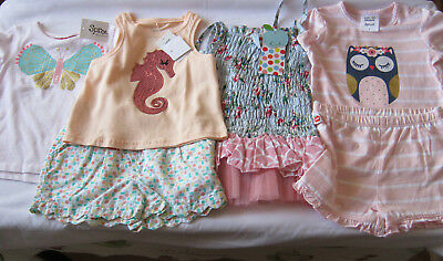 Girls Size 1 clothing bulk lot New Mixed items Sprout Oobi summer baby