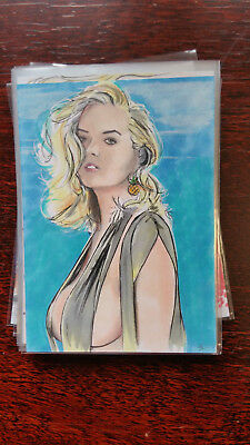 Brent Scotchmer Sketch Card Island Dreams 2018