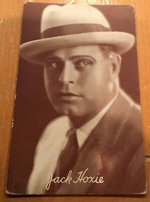 Jack Hoxie  Photo 1928 Arcade Exhibit Post Card Nice