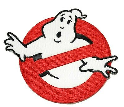 Ghostbusters No Ghosts Embroidered Patch Iron on / Sew on Badge Movie Logo