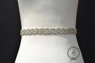 Bridal Belt Wedding Sash Belt Rhinestone Sash Bridal Sash