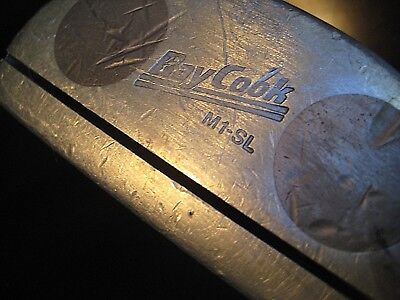 Ray Cook M1 SL Left Handed Putter w/Original Grip & Rust Free Shaft- FREE Ship!