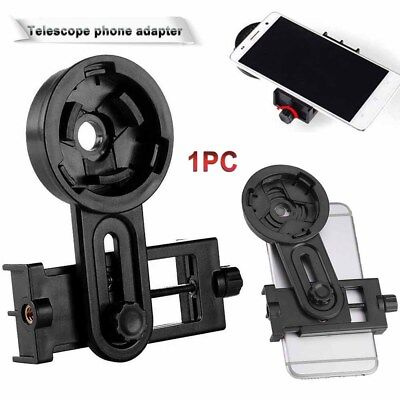 Smart Cell Phone Adapter Holder Mount for Microscope Telescope Interface Bracket