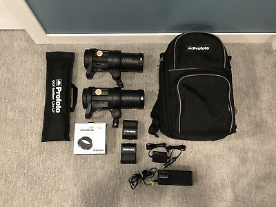 Profoto B1 500 AirTTL 2-Light Location Kit with Backpack/chargers & OCF Softbox