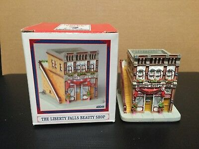 Liberty Falls Collection AH265 Beauty Shop New in box Christmas decoration