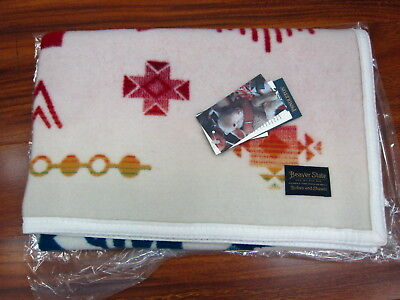 "Pendleton Sunrise Eagle Jacquard Muchacho Baby Blanket 32""x44""  Made in USA!!"