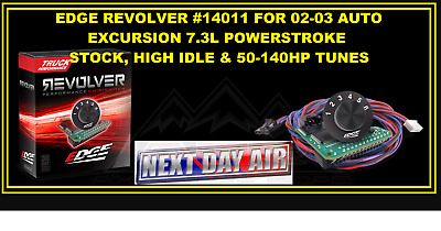 Edge 140011 Revolver Switch Chip For 02-03 Excursion 7.3 Powerstroke 140Hp! Nqw2