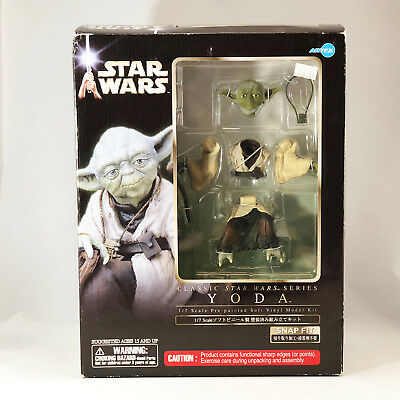 Kotobukiya Yoda Vinyl Kit Star Wars Empire Strikes Back ArtFx 1/7 Scale NEW