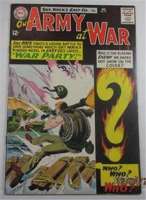 Our Army At War  #151 Dc Comics Feb 1965 First App Enemy Ace Vf- 7.5