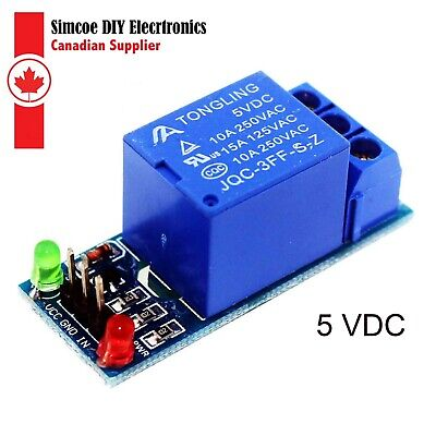 1 Channel Relay Module Board Shield 5V for Raspberry Pi ,Pic and Arduino  #306