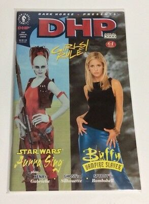 DARK HORSE PRESENTS GIRLS RULE Annual 2000 illustrated cover Buffy Star Wars