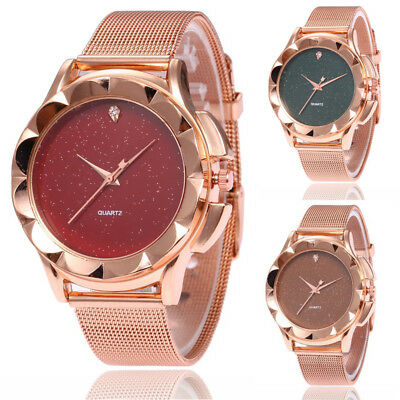 Women Ladies Silicone Strap Analog Fashion Casual Watches Quartz Wrist Watch NEW