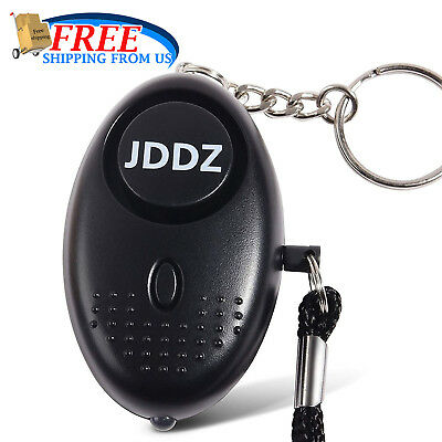 Personal Alarm Keychain For Women 140db SOS Emergency Safety Alarms LED Light