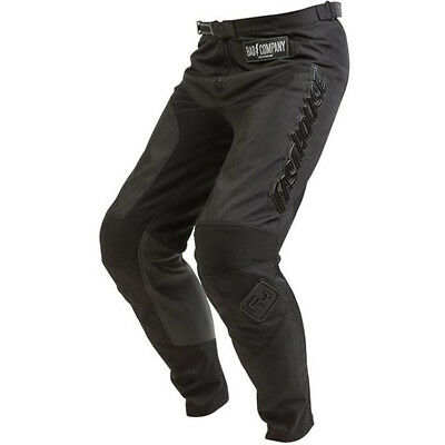 Fasthouse NEW Mx 2018 Grindhouse Solid Black Adult Motocross Dirt Bike Pants