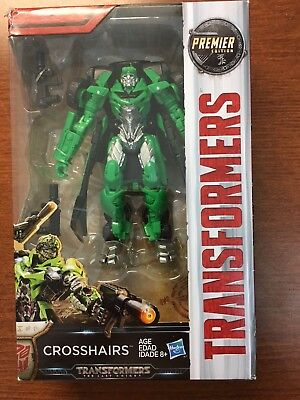 Hasbro Transformers The Last Knight Deluxe Crosshair Premier Edition