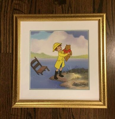 Disney Winnie The Pooh and the Blustery Day 1968 - Spring Rescue - Cel