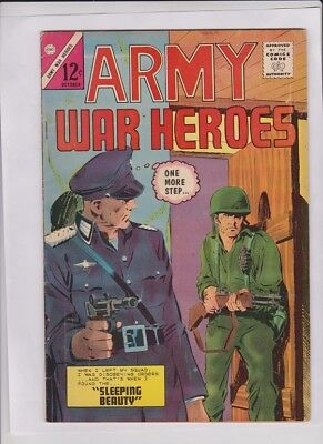 ARMY WAR HEROES #5 VG/F, Charlton 1964, solid low cost comic
