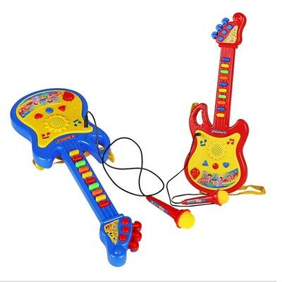 Childrens Kids Childs Easy Play Toy Musical Guitar In Retail Box Christmas Gifts