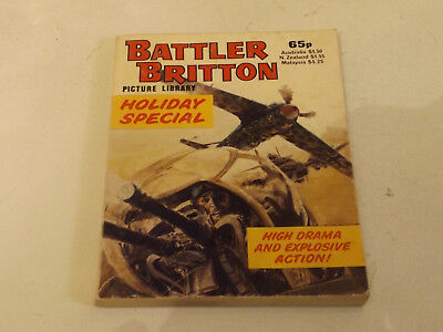 BATTLER BRITTON PICTURE LIBRARY,HOL SP,1984 ISSUE,V GOOD FOR AGE,34 yrs old.
