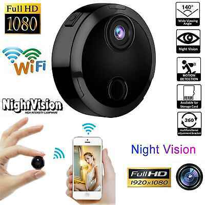Mini 1080P Hidden Camera Wi-Fi Spy Camera Wireless Night Vision Video Recorder