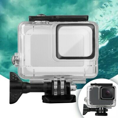 Waterproof Underwater Case Protective Housing Shell For GoPro Hero7 White/Silver