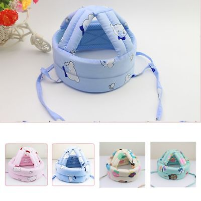 Infant Baby Toddler Safety Helmet  Head Protection Hat for Walking Crawling AU